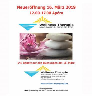 Neueröffnung 16. März 2019 12.00-17.00 APÉRO