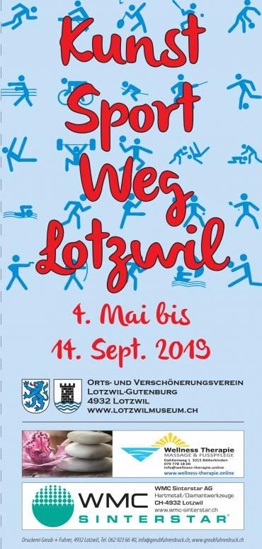 Kunst Sport Weg Lotzwil