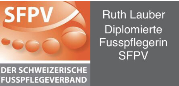 RUTH LAUBER – DIPLOMIERTE FUSSPFLEGERIN SFPV
